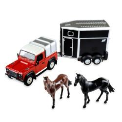 Britains 43239 Land Rover Horse Set 1:32 Diecast Farm Vehicle