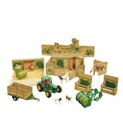 Britains 43257 Farm in a Box Playset 1:32 Toy Farm Set