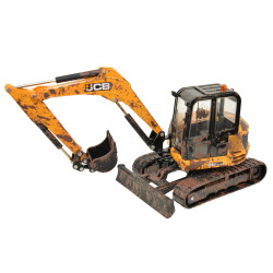 Britains 43279 Muddy JCB Midi Excavator 1:32 Diecast Farm Vehicle
