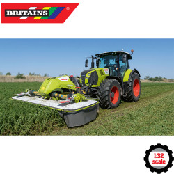 Britains 43302 CLAAS DISCO Front Butterfly Mower 1:32 Diecast Farm Vehicle