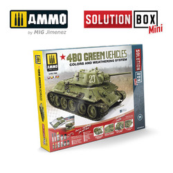 Ammo by MIG Green Vehicles Solution Box Set 7900
