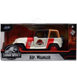 Jada Hollywood Rides Jurassic Park Wrangler 1:32 Diecast Model Car