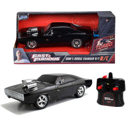 Jada Hollywood Rides Fast & Furious RC 1970 Dodge Charger 1:24 RC Model Car