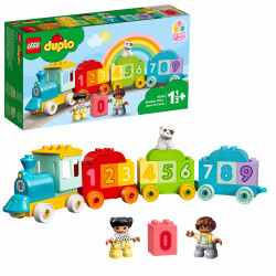 LEGO DUPLO 10954 My First Number Train Learn To Count for Toddlers Age 1+ 23pcs