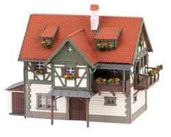 Faller Forest Ranger's Cottage Kit FA232349 N Gauge