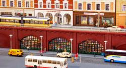 Faller Arcade Walling Kit II FA272583 N Gauge