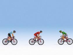 Noch Racing Cyclists (3) Figure Set N36897 N Gauge
