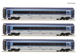 Roco CD Railjet Coach Set (3) VI RC74067 HO Gauge
