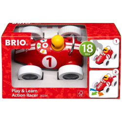 Brio 30234 Play & Learn Action Racer