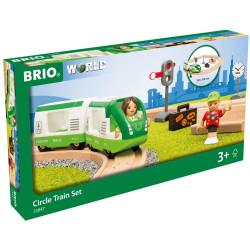 Brio 33847 Circle Train Set for Wooden Train Set