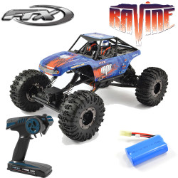 FTX Ravine 1/10 4WD 4WS Rock Buggy Crawler RTR RC Car Battery Charger 2.4ghz Radio