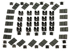 Dapol NEM Magnetic Coupling Pockets (20) N Gauge DA2A-000-014