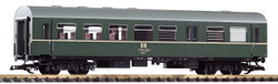 Piko DR 2nd Class Coach w/Baggage Compartment III PK37656 G Gauge