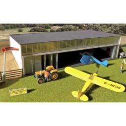 GAUGEMASTER Fordhampton Airfield Hangar OO Gauge Building Kit GM445