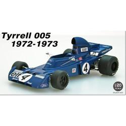 Ebbro E023 Tyrell 005 (1972-1975) 1:20 Plastic Model Kit