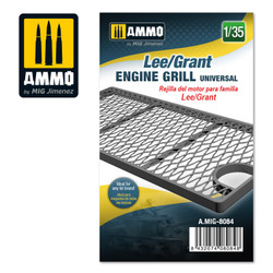 Ammo by MIG Lee/Grant Engine Grille Universal, Scale 1/35 For Model Kits MIG 8084