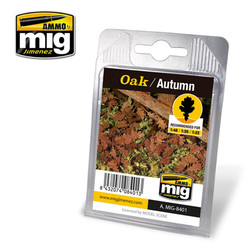 Ammo by MIG Oak Autumn Leaves For Model Kits MIG 8401