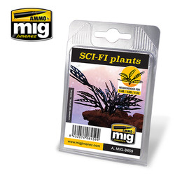 Ammo by MIG Sci Fi Plants For Model Kits MIG 8459
