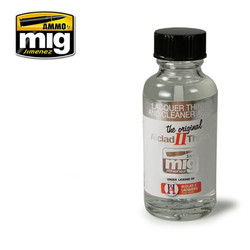 Ammo by MIG Laquer Thinner & Cleaner For Model Kits MIG 8200