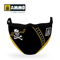Ammo by MIG Jolly Rogers Face Mask For Model Kits MIG 8070