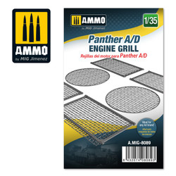 Ammo by MIG Panther A/D Engine Grilles, Scale 1/35 For Model Kits MIG 8089