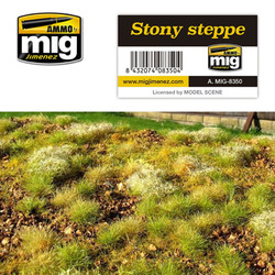 Ammo by MIG Stoney Steppe Grass Mat For Model Kits MIG 8350