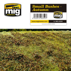 Ammo by MIG Small Autumn Bushes For Model Kits MIG 8359