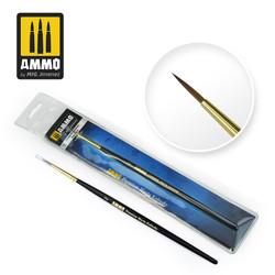 Ammo by MIG 2 Premium Kolinsky Round Brush For Model Kits MIG 8603