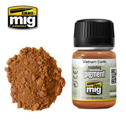 Ammo by MIG Vietnam Earth Pigment For Model Kits MIG 3022