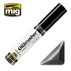 Ammo by MIG Gun Metal Oilbrusher For Model Kits MIG 3535