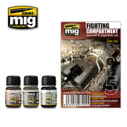 Ammo by MIG Fight Compartment Set For Model Kits MIG 7404