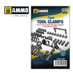 Ammo by MIG 1/35 Tiger Tank Tool Clamps For Model Kits MIG 8080