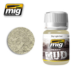 Ammo by MIG Dry Light Soil For Model Kits MIG 1700