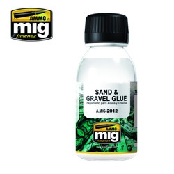 Ammo by MIG Sand & Gravel Glue For Model Kits MIG 2012