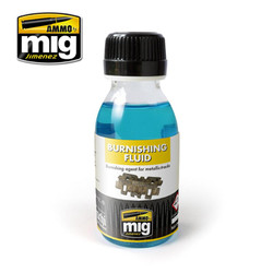 Ammo by MIG Burnishing Fluid 100ml For Model Kits MIG 2020