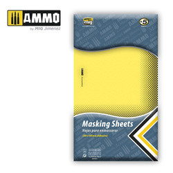 Ammo by MIG Masking Sheets For Model Kits MIG 8043