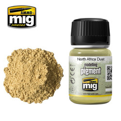 Ammo by MIG North Africa Dust Pigment For Model Kits MIG 3003