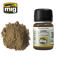 Ammo by MIG Europe Earth Pigment For Model Kits MIG 3004