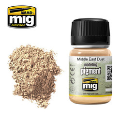 Ammo by MIG Middle East Dust Pigment For Model Kits MIG 3018