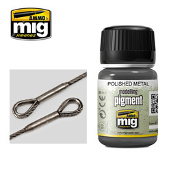 Ammo by MIG Polished Metal Pigment For Model Kits MIG 3021