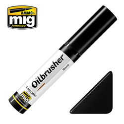 Ammo by MIG Black Oilbrusher For Model Kits MIG 3500