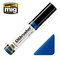 Ammo by MIG Dark Blue Oilbrusher For Model Kits MIG 3504
