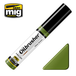 Ammo by MIG Olive Green Oilbrusher For Model Kits MIG 3505