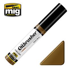 Ammo by MIG Dark Mud Oilbrusher For Model Kits MIG 3508