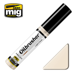 Ammo by MIG Light Flesh Oilbrusher For Model Kits MIG 3519
