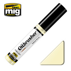 Ammo by MIG Yellow Bone Oilbrusher For Model Kits MIG 3521