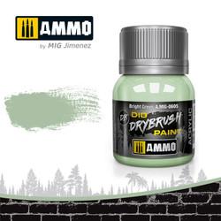 Ammo by MIG Drybrush Bright Green For Model Kits MIG 0605