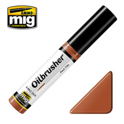 Ammo by MIG Red Tile Oilbrusher For Model Kits MIG 3525
