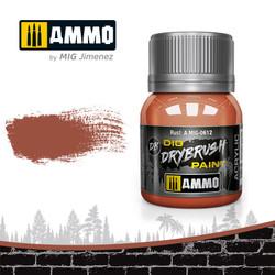 Ammo by MIG Drybrush Rust For Model Kits MIG 0612