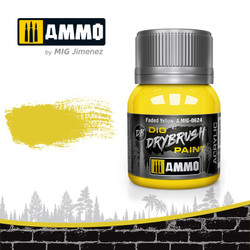 Ammo by MIG Drybrush Faded Yellow For Model Kits MIG 0624